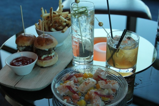 Small Bites: Sliders & Crudo